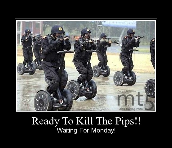 Ready To Kill The Pips!!