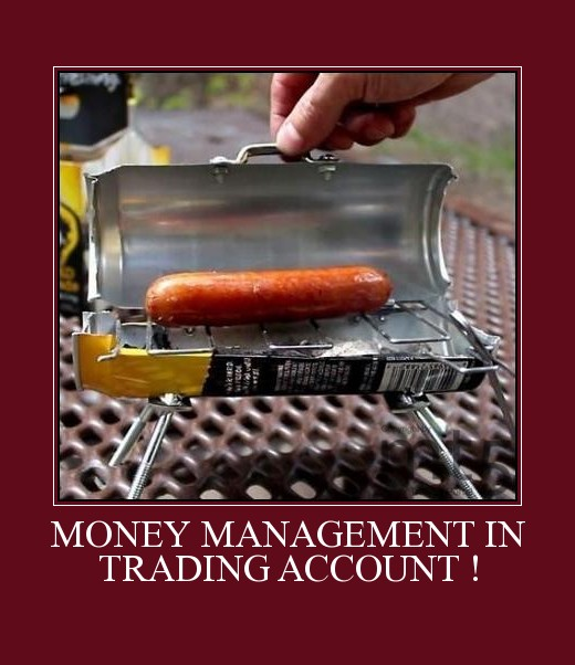MONEY MANAGEMENT IN TRADING ACCOUNT !
