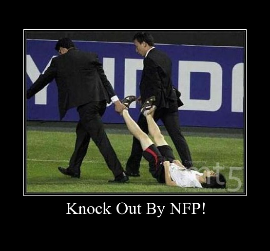 Knock Out By NFP!
