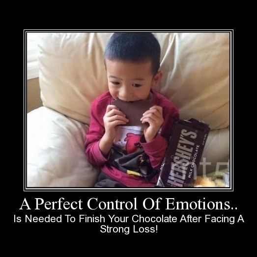 A Perfect Control Of Emotions..