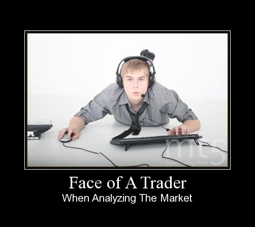 Face of A Trader