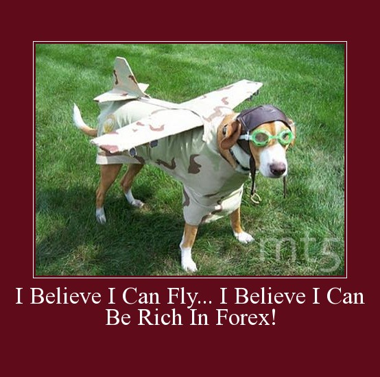 I Believe I Can Fly... I Believe I Can Be Rich In Forex!