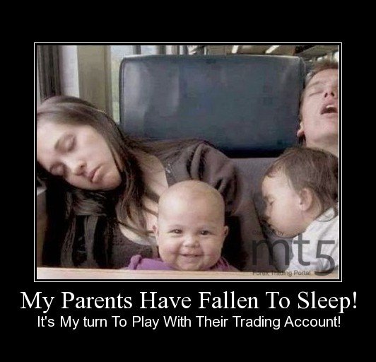 My Parents Have Fallen To Sleep!