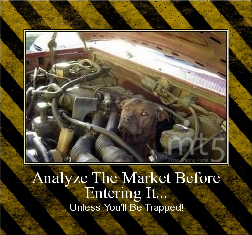 Analyze The Market Before Entering It...