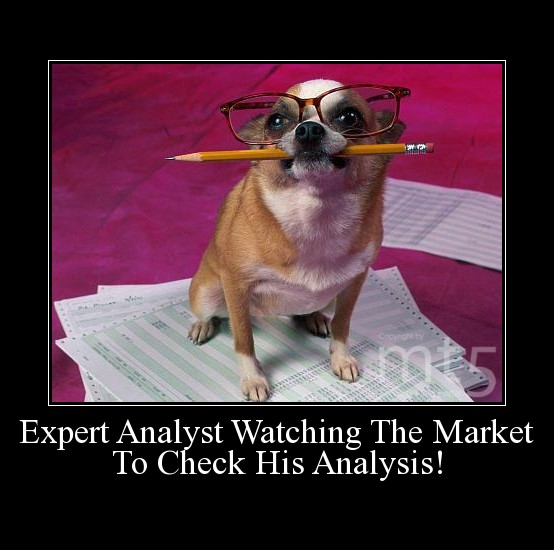 Expert Analyst Watching The Market To Check His Analysis!