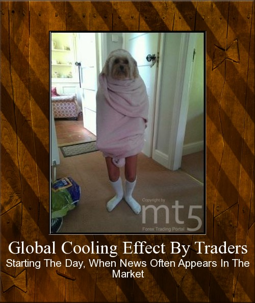 Global Cooling Effect By Traders
