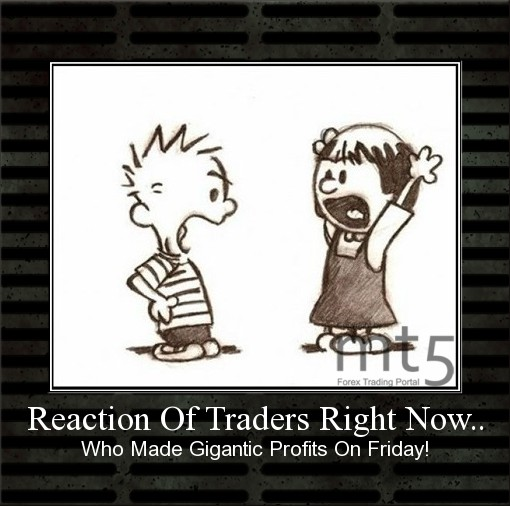 Reaction Of Traders Right Now..