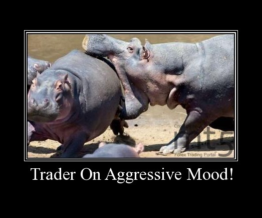 Trader On Aggressive Mood!