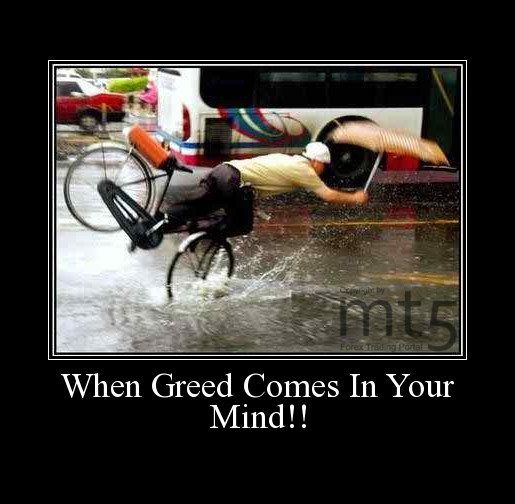 When Greed Comes In Your Mind!!