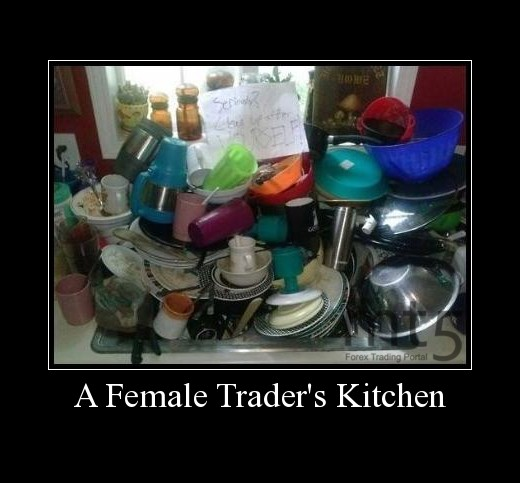 A Female Trader's Kitchen