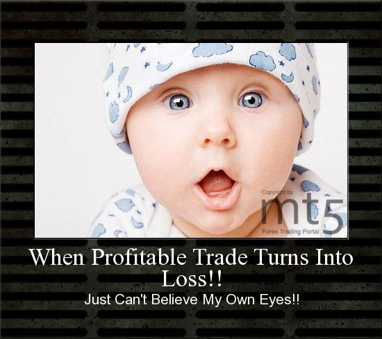 When Profitable Trade Turns Into Loss!!
