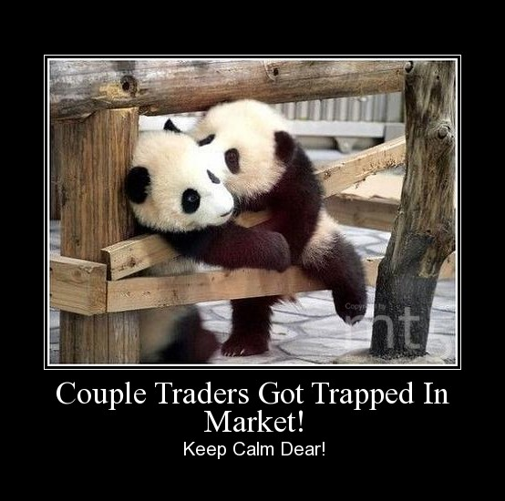 Couple Traders Got Trapped In Market!