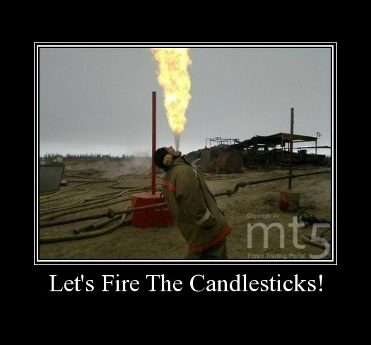 Let's Fire The Candlesticks!