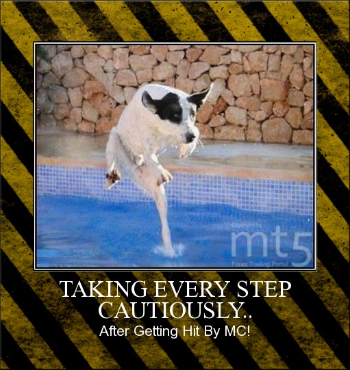 TAKING EVERY STEP CAUTIOUSLY..