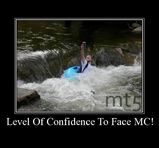 Level Of Confidence To Face MC!