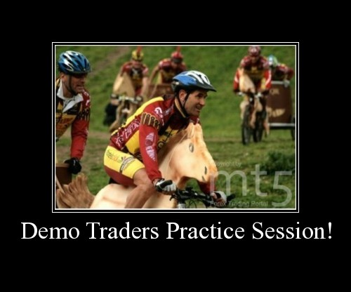 Demo Traders Practice Session!
