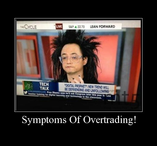 Symptoms Of Overtrading!