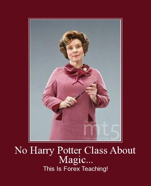 No Harry Potter Class About Magic...