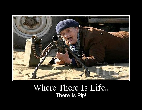 Where There Is Life..
