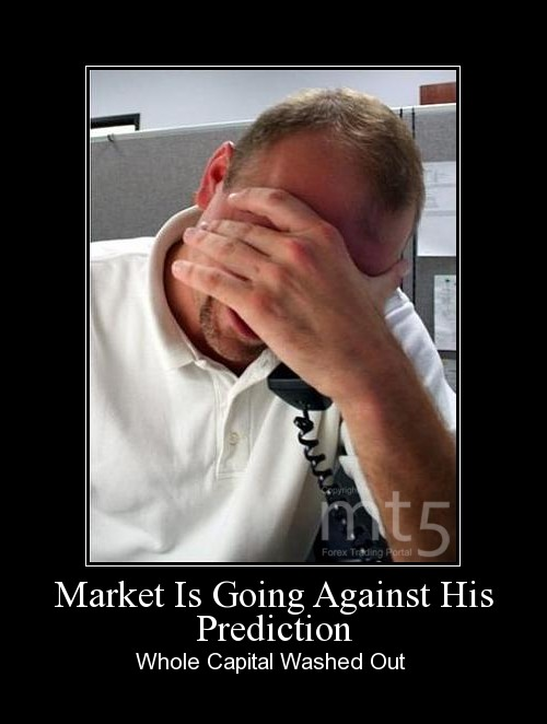 Market Is Going Against His Prediction