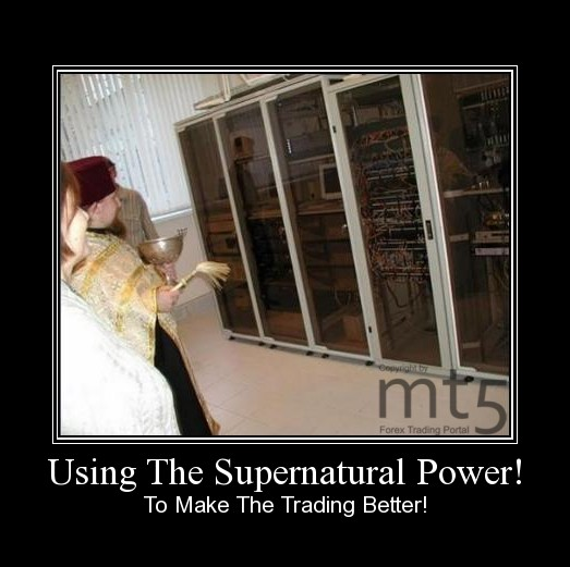 Using The Supernatural Power!