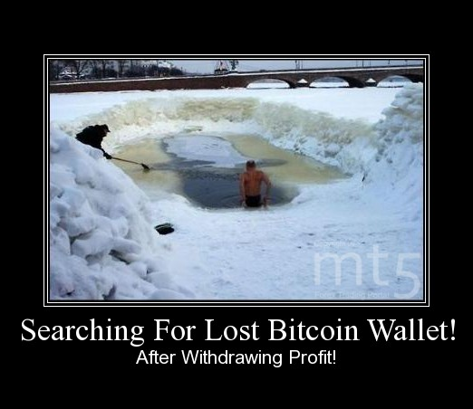 Searching For Lost Bitcoin Wallet!