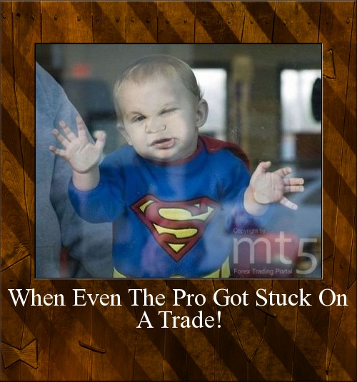 When Even The Pro Got Stuck On A Trade!