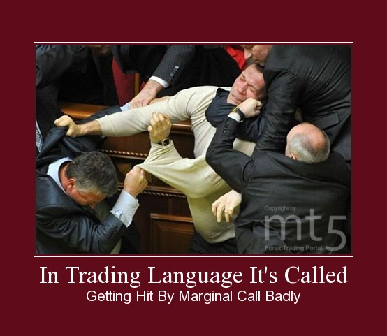 In Trading Language It's Called