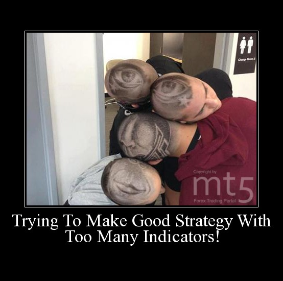 Trying To Make Good Strategy With Too Many Indicators!