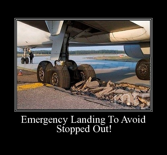 Emergency Landing To Avoid Stopped Out!
