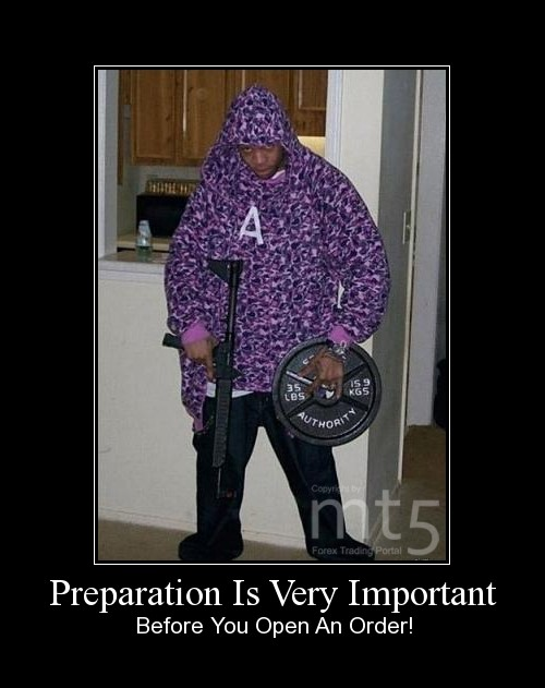 Preparation Is Very Important