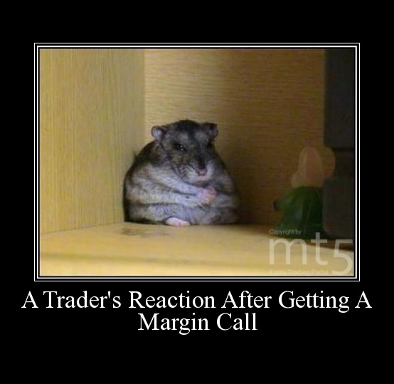 A Trader's Reaction After Getting A Margin Call