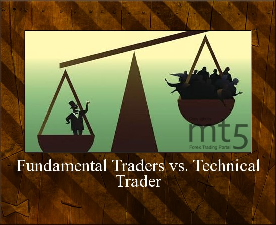 Fundamental Traders vs. Technical Trader