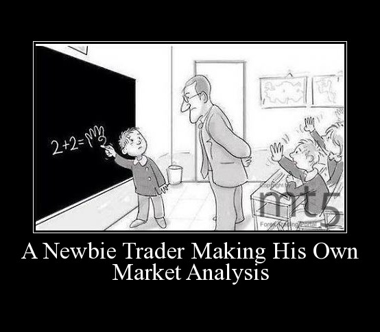 A Newbie Trader Making His Own Market Analysis