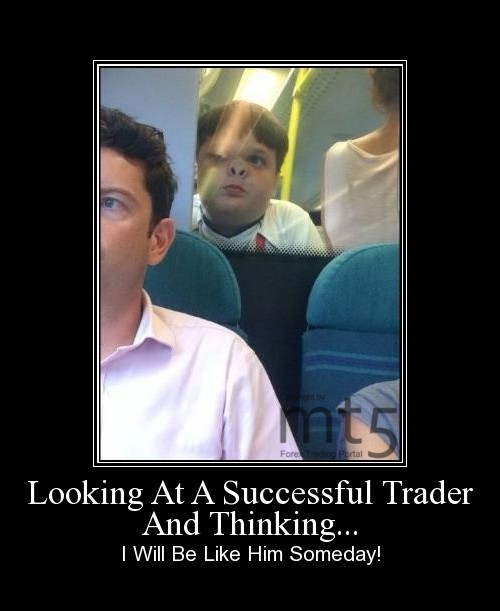 Looking At A Successful Trader And Thinking...