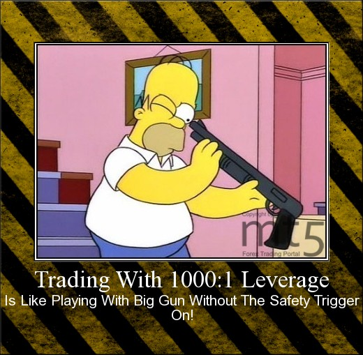 Trading With 1000:1 Leverage