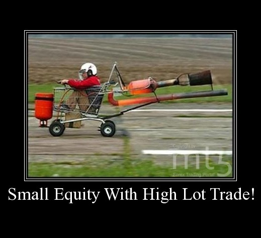 Small Equity With High Lot Trade!
