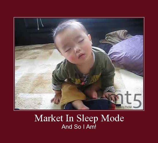 Market In Sleep Mode