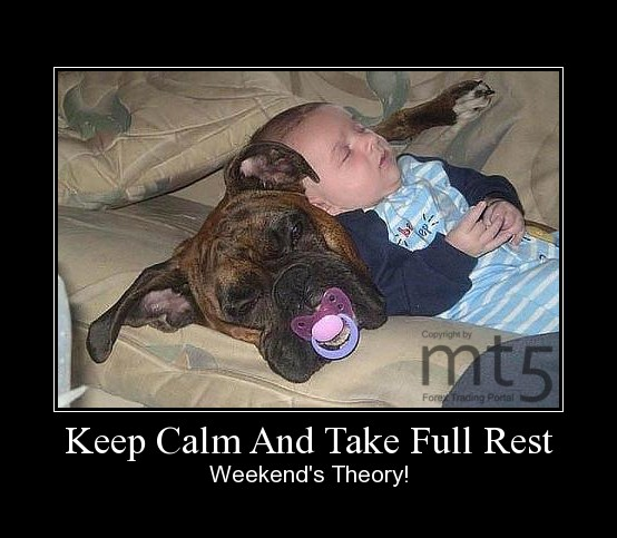 Keep Calm And Take Full Rest
