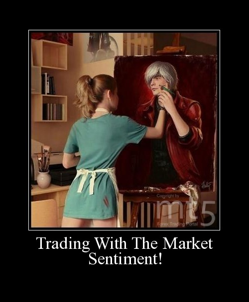 Trading With The Market Sentiment!