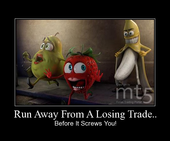Run Away From A Losing Trade..