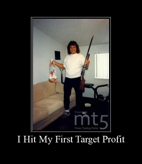 I Hit My First Target Profit