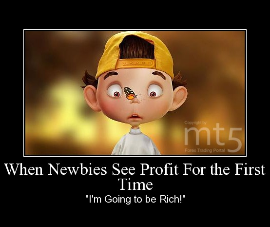 When Newbies See Profit For the First Time
