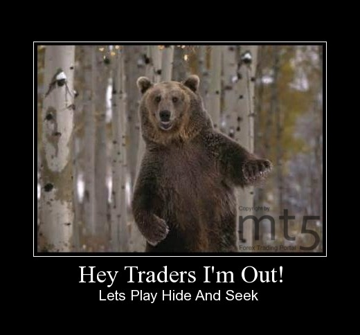 Hey Traders I'm Out!
