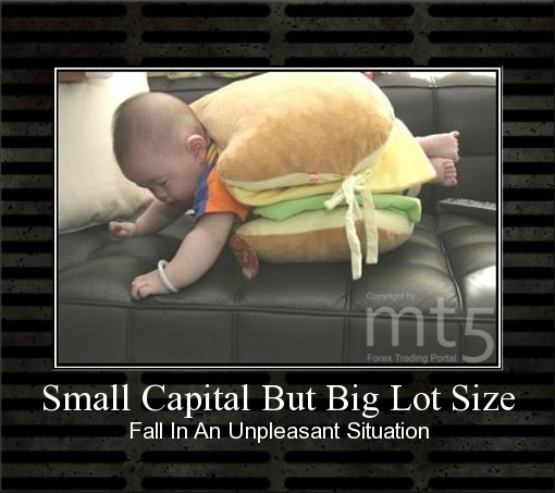Small Capital But Big Lot Size