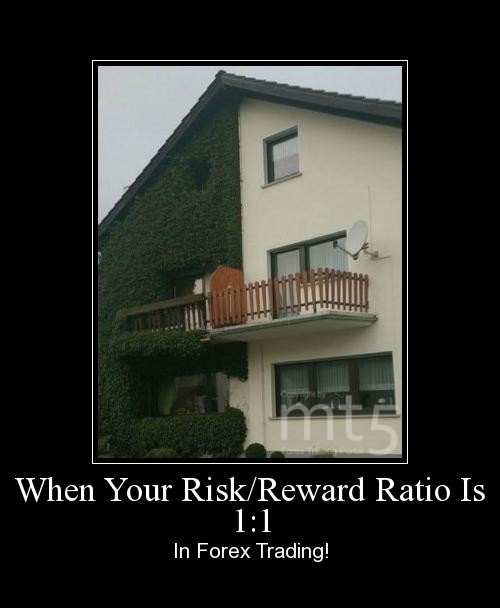 When Your Risk/Reward Ratio Is 1:1