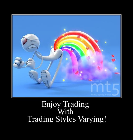 Enjoy Trading  With  Trading Styles Varying!