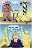 Germany will bring gold reserves back home
