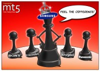 Samsung focuses on home appliances