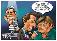 Merkel and Sarkozy Stain Berlusconi's Reputation